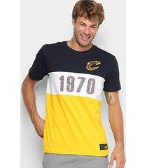 camiseta new era nba cleveland cavaliers fresh established masculina