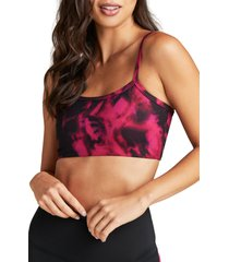 women's strut this rocky sports bra, size x-small - pink