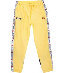 ellesse avico track pants - light yellow sha05327