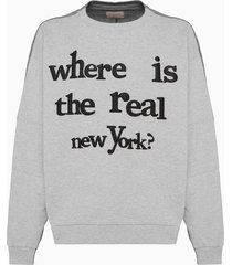 buscemi mismatch sweatshirt 20201