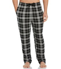 perry ellis portfolio men's plaid knit pajama pants