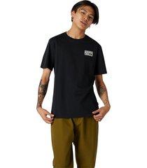 converse camiseta de manga corta cons black
