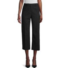 kobi halperin women's victoria cropped pants - black - size 10