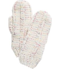 i.n.c. space dye chenille mittens, created for macy's