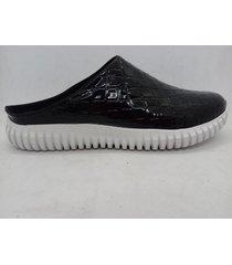zapatilla negra abryl calzados