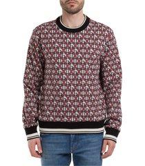 maglione maglia uomo girocollo dg