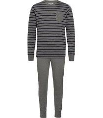 pyjama knit pyjamas grå jockey