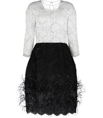 lace top cocktail dress