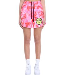 barrow shorts in rose-pink cotton