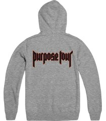 justin bieber purpose the world tour unisex pull over hoodie