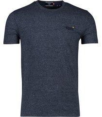 superdry vintage t-shirt navy gemeleerd