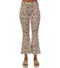 o'neill dallen printed flare-leg pants