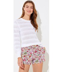 loft jungle riviera shorts with 4 inch inseam