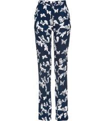 pantaloni a palazzo in viscosa (blu) - bpc selection