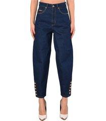 couture jeans vita alta