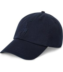 polo ralph lauren men's big pony chino cap