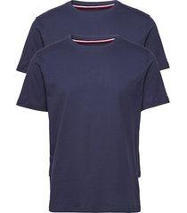 2p cn tee ss t-shirts short-sleeved blå tommy hilfiger