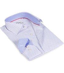 levinas men's finollo contemporary-fit dress shirt - white - size 17