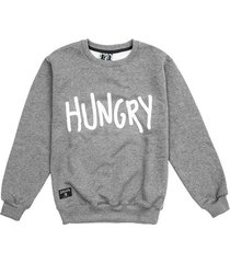 bluza hungry grey