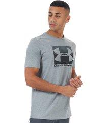 mens boxed sportstyle short sleeve t-shirt