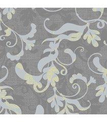 papel de parede stickdecor adesivo floral galhos cinza - tricae