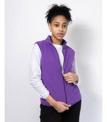 chaleco violeta clon