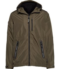 surplus goods hiker jacket dun jack groen superdry