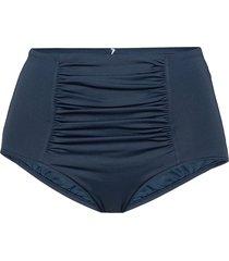high waisted pant bikinitrosa blå seafolly