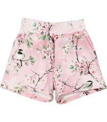 monnalisa pink shorts
