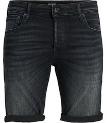 korte broek jack & jones bermudas negras hombre 12170318