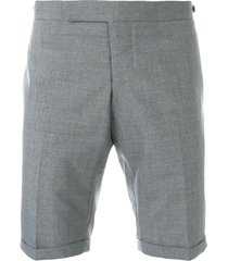 thom browne low rise skinny shorts - grey