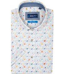 bos bright blue craig short slv shirt cut awa 21107cr53bo/500 multicolour