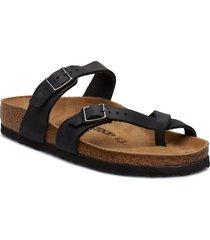 mayari shoes summer shoes flat sandals svart birkenstock
