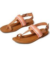 toms bree thong sandal, size 6.5 in natural at nordstrom