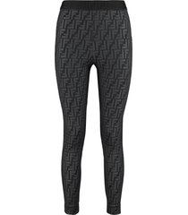 fendi elasticated waist leggings
