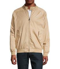 ben sherman men's original harring cotton jacket - dark navy - size xl