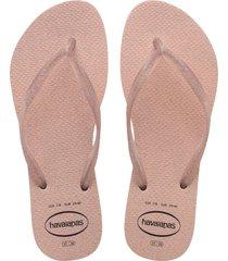 women's havaianas slim gloss flip flop, size 7 m - pink