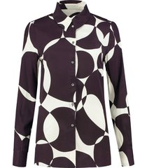 blouse rory bordeauxrood