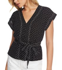 1.state dotted belted top
