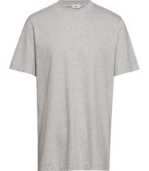m. single jersey tee t-shirts short-sleeved grijs filippa k