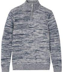 maglione leggero con cotone riciclato (blu) - john baner jeanswear
