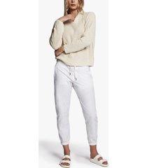 cotton linen hoodie