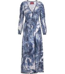 for restless sleepers blue ecate long dress