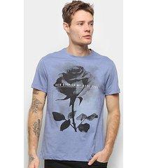 camiseta t-shirt suburban estampada manga curta masculina