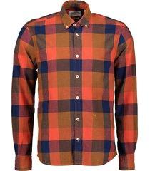 new in town overhemd - slim fit - oranje