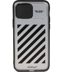 off-white diag slide iphone 11 pro case