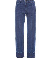 calça feminina pry - azul