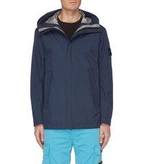 'gore-tex' hooded jacket