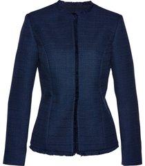 blazer in tessuto bouclé (blu) - bpc selection