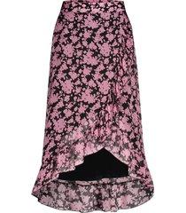 midi rok met print alina  roze